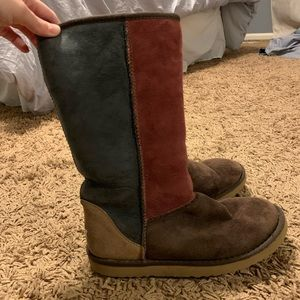 Multi color classic Ugg boot